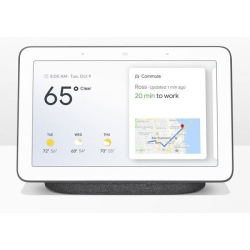 Asistente Inteligente Google Home Hub Charcoal