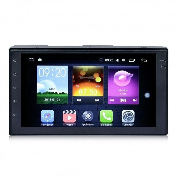 Radio Coche Mp5 Player 2Din Gps Android Bluetooth 50Wx4