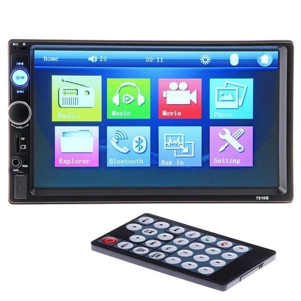 Radio Coche Mp5 Player 2Din FHD Aux Usb Bluetooth 50Wx4