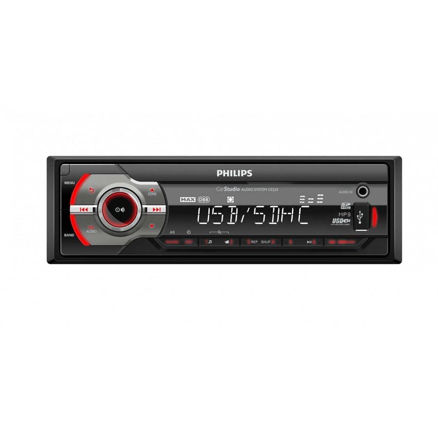 RADIO COCHE PHILIPS CE233 USB/4x50W