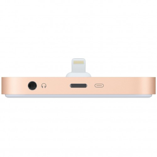 Base De Carga Iphone Lightning Dock Gold
