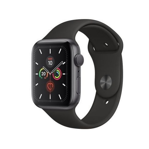 Apple Watch S5 44Mm + Gps Space Gray Correa Black