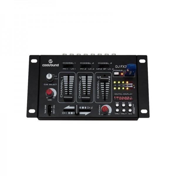 Mesa De Mezcla Coolsound DJ FX300 Bluetooh/USB
