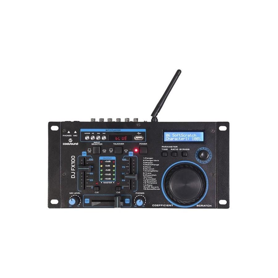 Mesa De Mezcla Coolsund FX100 Bluetooh/USB