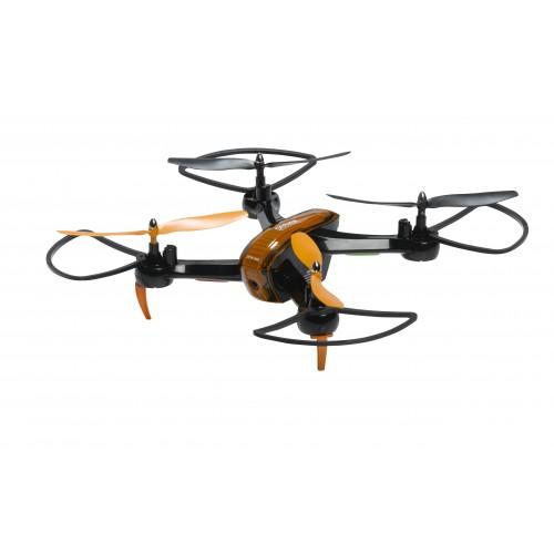 Drone Denver DCW-360 MK2 con cámara Cuadricóptero Negro, Naranja 4 rotores 0,3 MP 1000 mAh
