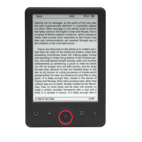 "Ebook Denver EBO-620 6"" 4GB Negro"