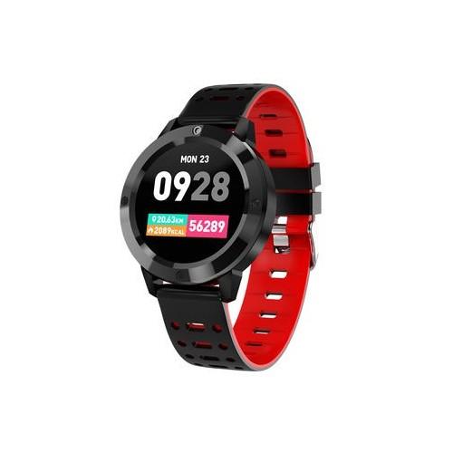 Smartwatch Topfit 1.3/Bt 4.0/Negro-Rojo