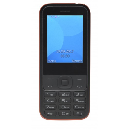 "Movil Denver FAS-24100M 2.44"" Negro, Rojo"