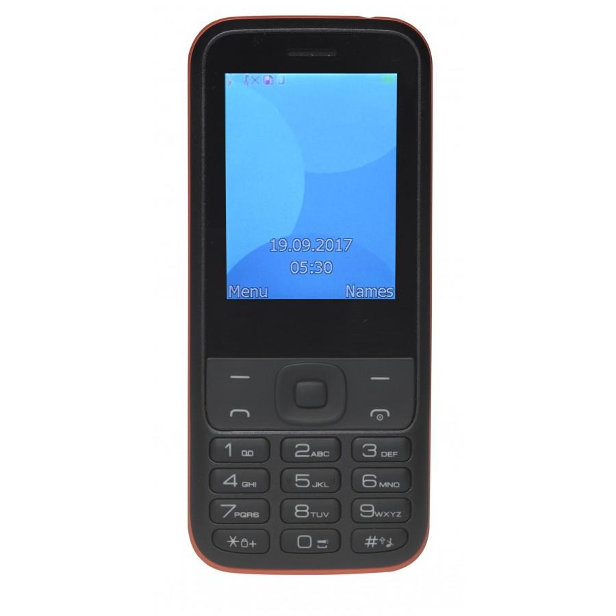 "Denver FAS-24100M 6,2 cm (2.44"") 240 g Negro, Rojo Característica del teléfono"