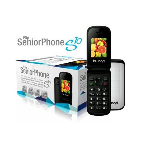 Movil Biwond S10 FLIP Senior Phone Ds