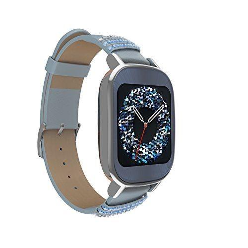 Smartwatch Asus Zenwatch 2 Silver/Leather Swarovsk