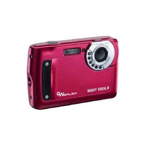 Camara Werlisa Night Vision 5Mp/Video/Roja