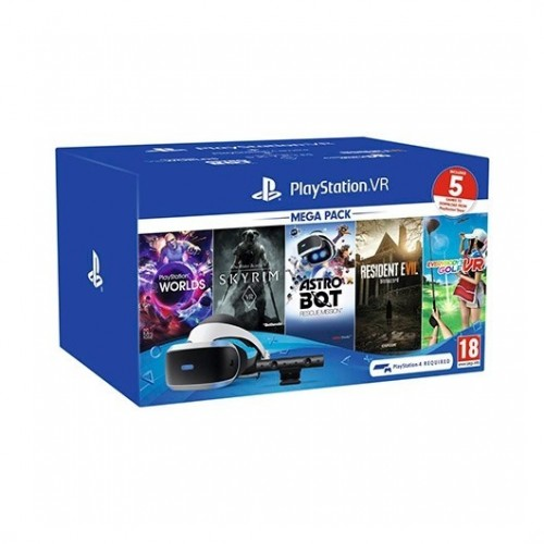 Mega Pack Playstation VR + Camara V2 + 5 Juegos