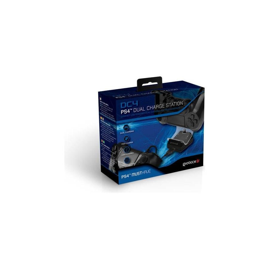 ESTACION DE CARGA DC4 MANDO PS4 USB