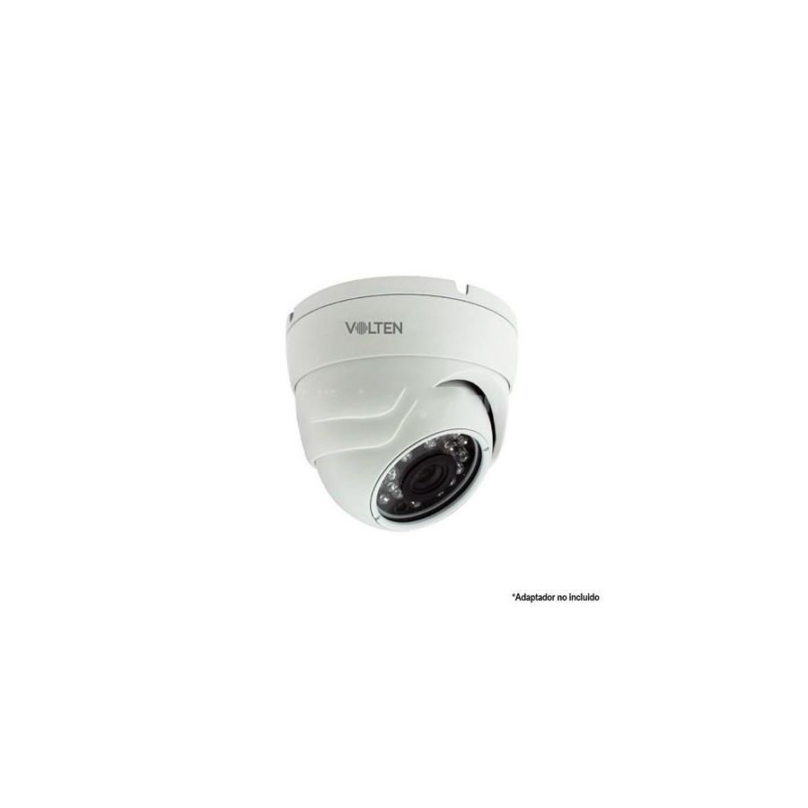 CAMARA ALUMINIO VOLTEN AHD CCTV DOMO 2MP VL1027
