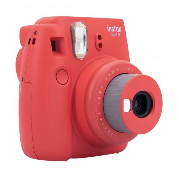 Camara Fuji Instax Mini 9 Poppy Rojo