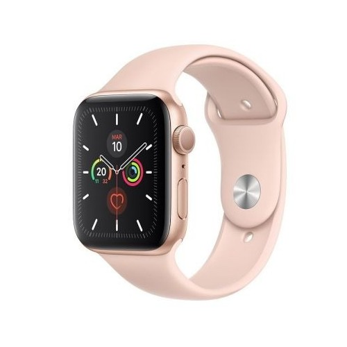 Apple Watch S5 44MM + GPS GOLD Correa Pink