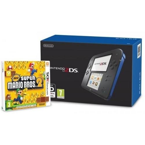 Nintendo 2DS / Negra-Azul / Mario Bros 2