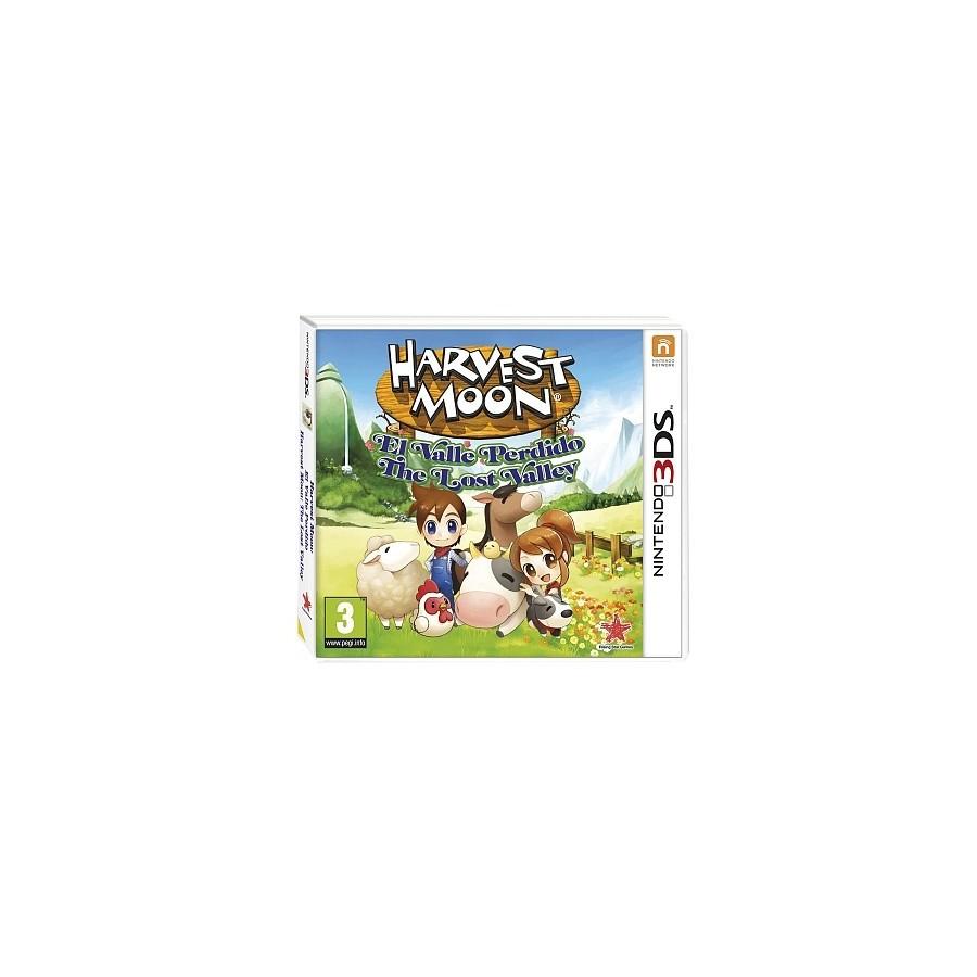 Juego / Nintendo 3DS / Harvest Moon el valle perdido