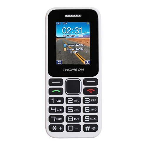 Movil Thomson TLINK11WHT DUAL SIM BT