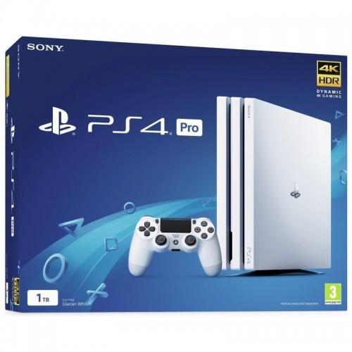 Consola PS4 Pro 1TB Glacier White