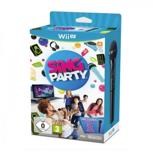Juego / Sing Party / WII U / Con Micrófono