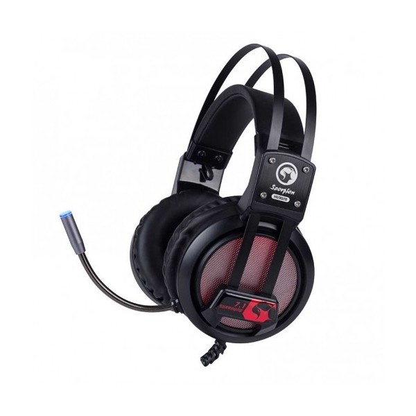 Auricular Gaming Marvo Scorpion HG9028 7.1 RGB PC