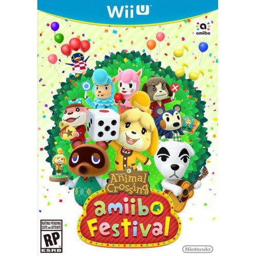 Juego / Animal Crossing / Amiibo Festival WII U