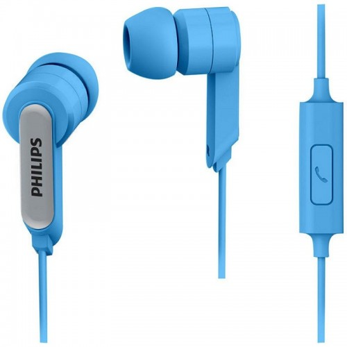 Auriculares Philips SHE1405 Con Mic Azul