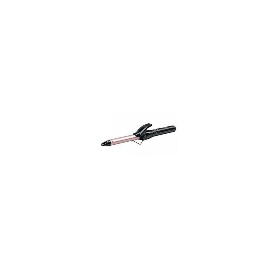 BaByliss Pro 180 19mm Rizador de pelo Caliente Negro, Rosa