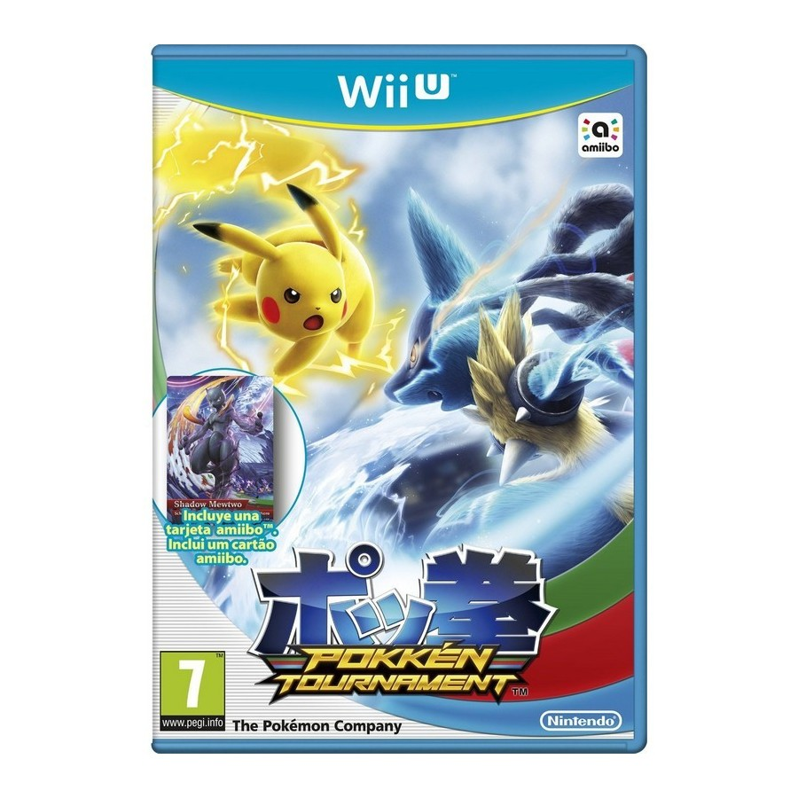 Juego Wii U Pokemon Tournament Amiibo