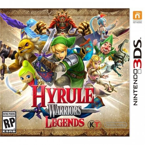Juego / Hyrule Warriors Legends / 3DS