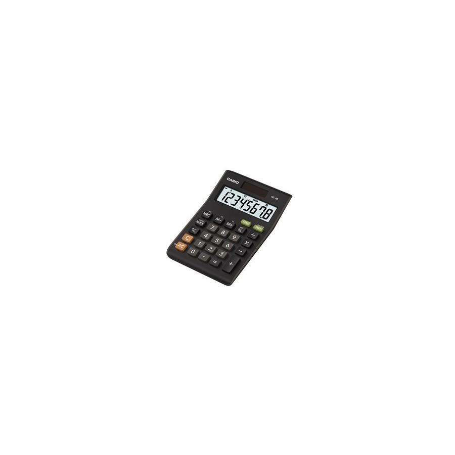 Casio MS-8B calculadora Escritorio Calculadora básica Negro