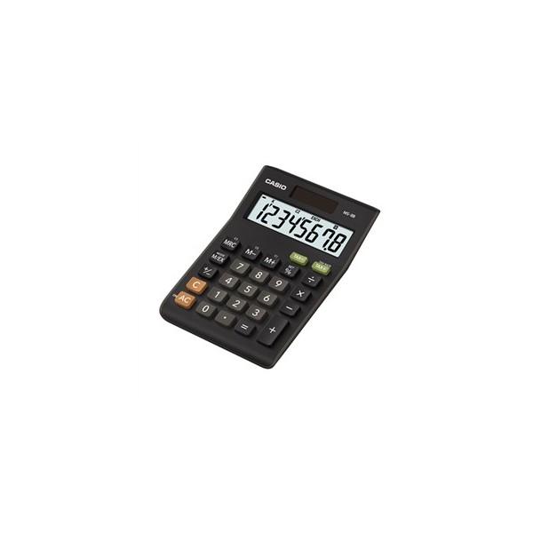 Calculadora Casio MS-8B básica Negro