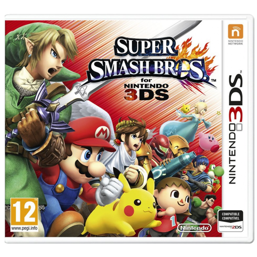JUEGO 3DS SUPER SMASH BROSH