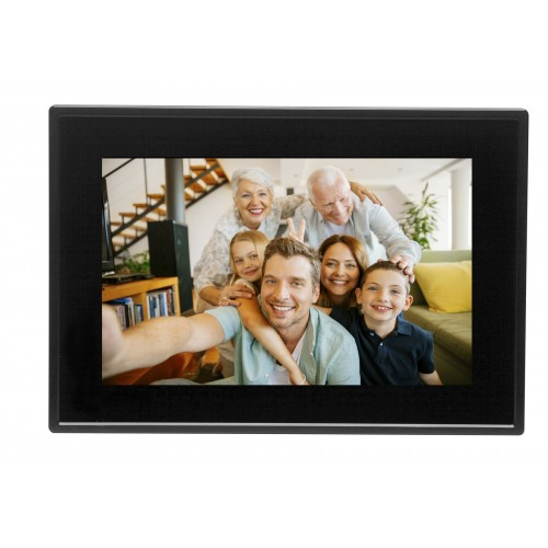 "Marco fotográfico digital Denver PFF-1011Black 25,6 cm (10.1"") Pantalla táctil Wifi Negro"