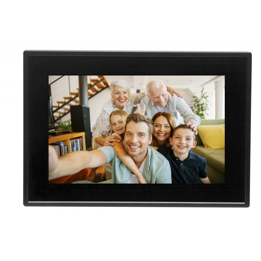"Denver PFF-1011BLACK marco fotográfico digital 25,6 cm (10.1"") Pantalla táctil Wifi Negro"