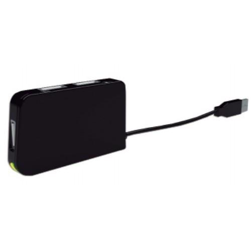 Hub USB Approx APPHT4 480 Mbit/s Negro
