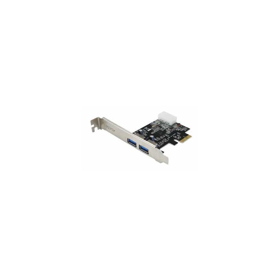 Approx APPPCIE2P3 tarjeta y adaptador de interfaz USB 3.0 Interno