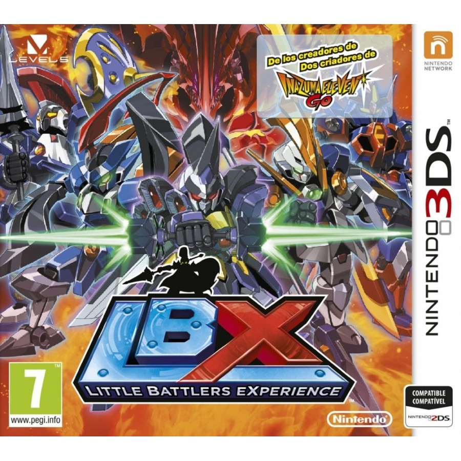 Juego / Little Battle Experience / Nintendo 3Ds