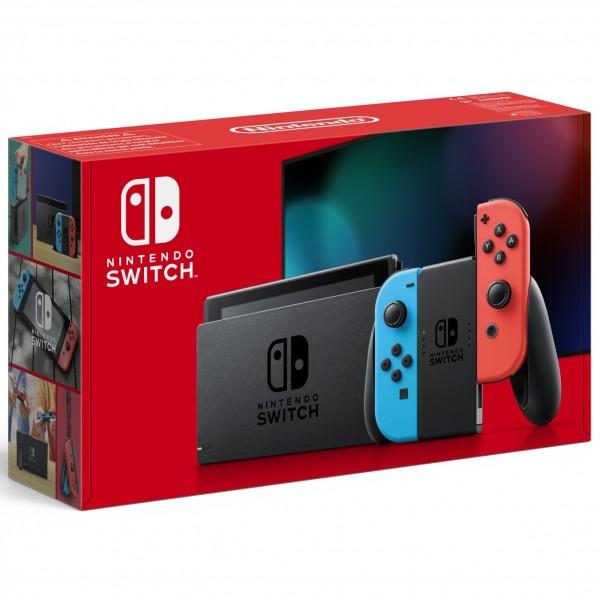 Consola Nintendo Switch Azul/Rojo Neón 2019