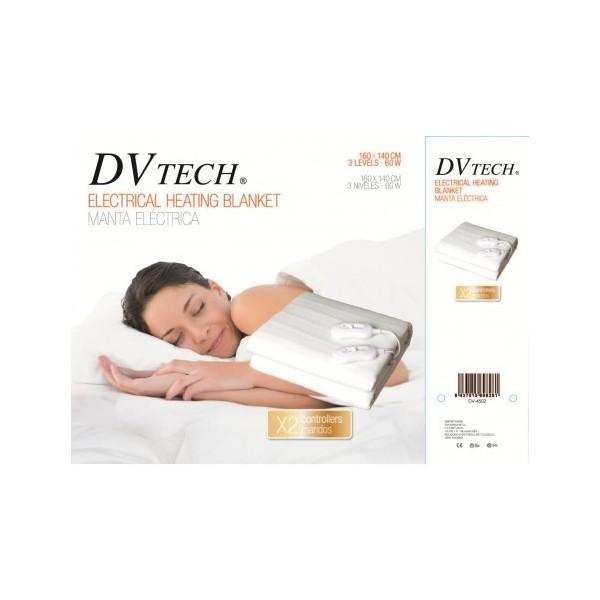 Almohadilla Electrica DVTECH DV-4502 160X140 60W