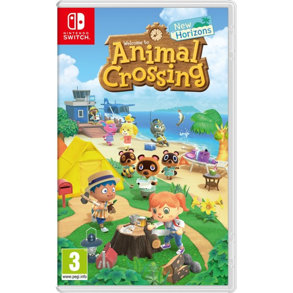 Juego Nintendo Switch Animal Crossing New Horizons