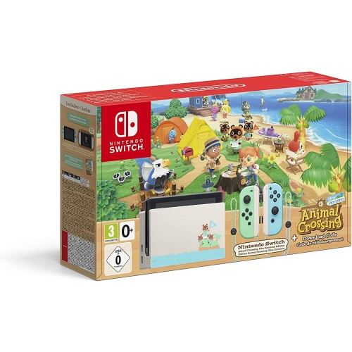 Consola Nintendo Switch Edición Animal Crosing New Horizons Edición Limitada
