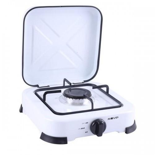 Cocina de Gas Muvip MV0193 1 Fuego Blanca