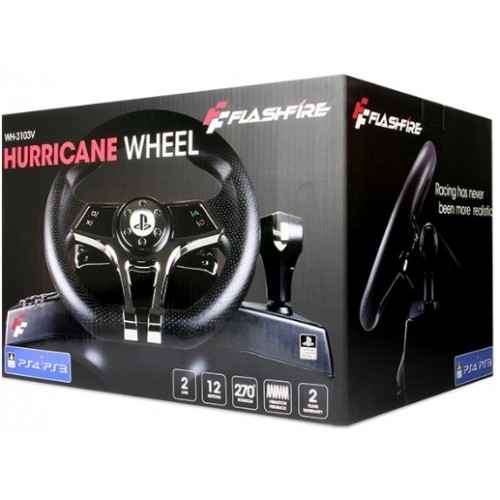 Volante Flashfire Ps4 Ps3 Hurricane Wheel