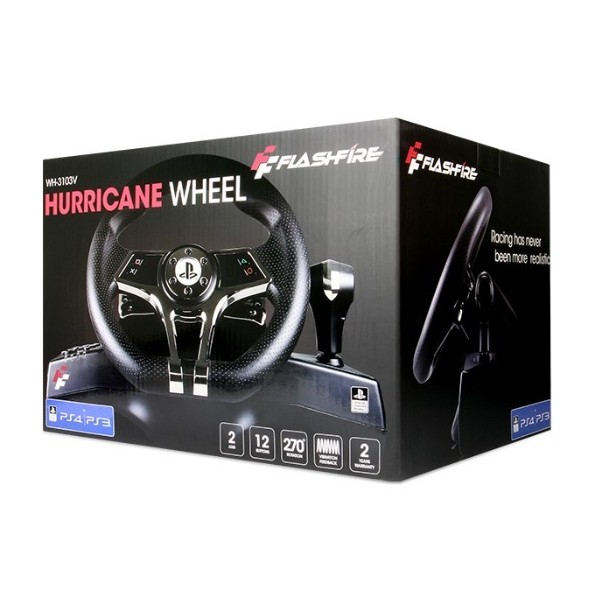 Volante Flashfire Ps4 Ps3 Hurricane Wheel