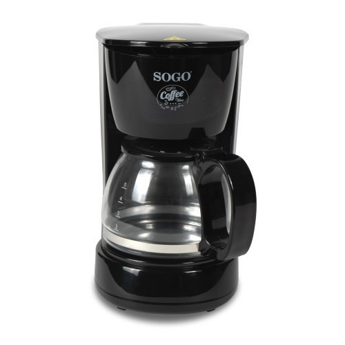 CAFETERA DE GOTEO SOGO SS-5655 650W/4 TAZAS/0.6L