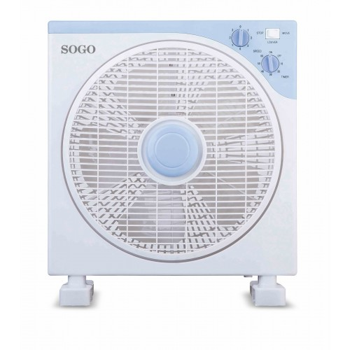 "Ventilador Sogo SS-21105 12"" 30cm 40w Blanco"