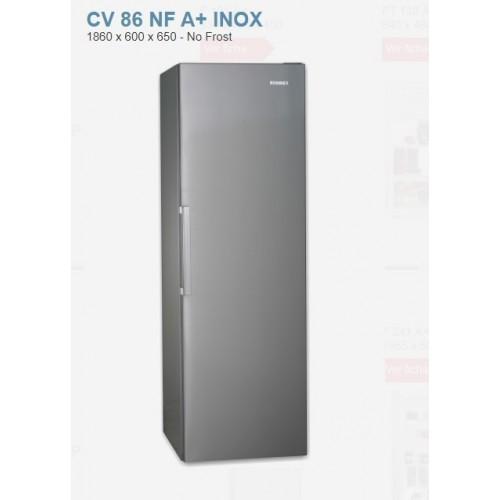 Congelador Rommer CV86 185x60 A+ No Frost Inox
